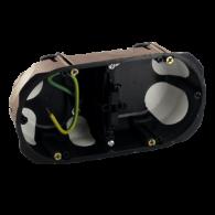 Boîter d'appareillage NO AIR faradisé Double 71 - Ø 67 X 40 mm