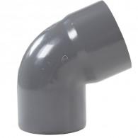 Coude PVC 67°30 Mâle/Femelle DISPONIBLE en 6 MODÈLES - First Plast