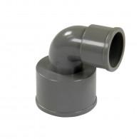 Coude réduit PVC 87°30 FF Ø50x32 FIRST-PLAST