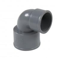 Coude réduit PVC 87°30 FF Ø50x40 FIRST-PLAST