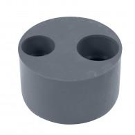 Tampon de réduction PVC double MÂLE FEMELLE FIRST-PLAST DISPONIBLE en 10 MODÈLES