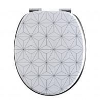 Abattant WC DECO Bois origami -  Wirquin Pro 20721501