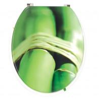 Abattant WC DECO Bois végétal - Wirquin Pro 20717959
