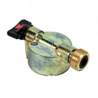 Adaptateur pour bouteille à valve Ø20 - sortie mâle bouteille