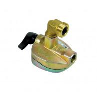 Adaptateur pour bouteille à valve Ø27 - sortie mâle bouteille