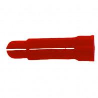 Chevilles PC crampon rouge en grappe 8x34 - 100 pièces