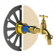 Applique robinet de jardin sous enduit APLIC'ENDUIT F1/2 (15/21)