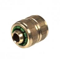 Raccord manchon réparateur pour tuyau d'arrosage Ø15mm