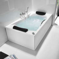 Baignoire rectangulaire biplace BeCool Roca