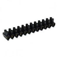 Barrettes NF auto-extinguible 25mm² - 12 plots - 63A