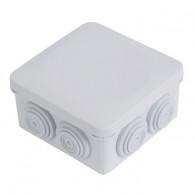 Boite dérivation étanche OPTIBOX tétines IP55 80x80x42mm
