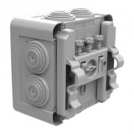 Boite dérivation OPTIBOX tétines IP55 155x110x80mm avec fixation