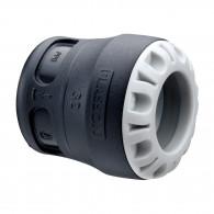 Bouchon de ligne encliquetable tube PE - Série 1 - Plasson