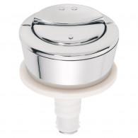 Bouton pour mécanisme wc à câble double poussoir MW00 - Wirquin PRO 10720826