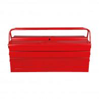 Caisse à outils métallique, 5 compartiments H190xL550xB200 mm KS Tools 999.0125