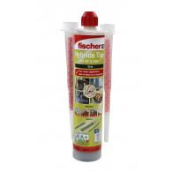Carton de 12 cartouches scellement chimique - Ton Gris 300ml - Fischer 520103
