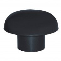 Chapeaux de ventilation PVC sans moustiquaire - Gris ardoise