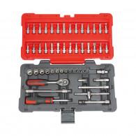 Coffret de douilles et accessoires ULTIMATE 1/4'', 50 pièces KS Tools 922.0650