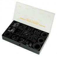 Coffret joint caoutchouc synthétique noir - 450 pièces