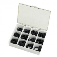 Coffret joint torique noir assortis - N°4 à 11 - 200 pièces