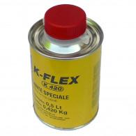 Colle pour isolant calorifuge avec pinceau 0,50 L