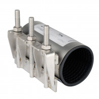 Collier de réparation pour tube rigide PE, PVC, Acier et Fonte