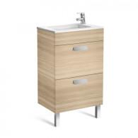 Meuble compact Unik DEBBA 500 2 tiroirs et lavabo