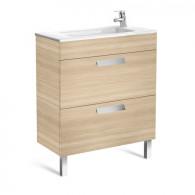 Meuble compact Unik DEBBA 700 2 tiroirs et lavabo