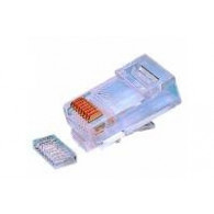 Connecteur RJ45 blindé Cat.6 UTP/FTP