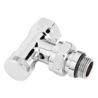 Coude de réglage RLV-CX 15 chromé - 1/2 (15/21) pour l'installation de sèche-serviette