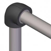 Coude isolant pour réseaux PVC PRESSION - épaisseur 13mm
