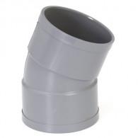 Coude PVC à l'unité - 22°30 Femelle Femelle DISPONIBLE en 4 MODÈLES - First Plast