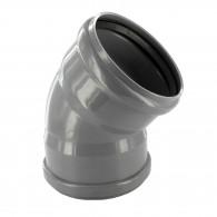 Coude PVC 45° assainissement FF