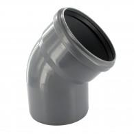Coude PVC 45° assainissement MF