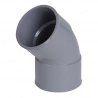 Coude PVC 45° Femelle Femelle NICOLL