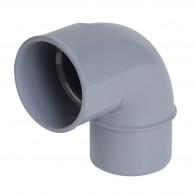 Coude PVC 87°30 Mâle Femelle NICOLL