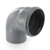 Coude PVC 87° Assainissement MF Ø110 - First Plast
