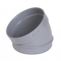 Coude PVC Secteur 30° MF Ø100 Nicoll
