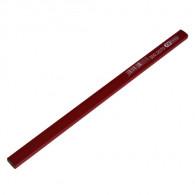 Boîte de 12 crayons de charpentier rouge 250mm