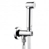 Pack douchette WC jet de pluie en laiton Chromé - Cristina Ondyna WC69451