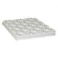 Dalle à plots polystyrène R1,25 Ep.42mm - Lot de 8 plaques (7,52m²)