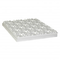 Dalle à plots polystyrène R1,70 Ep.57mm - Lot de 6 plaques (5,64m²)