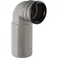 Coude de raccordement 90° WC Geberit Ø100mm H23cm - Geberit