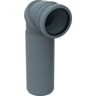 Coude de raccordement 90° WC Geberit Ø100mm H30cm - Geberit