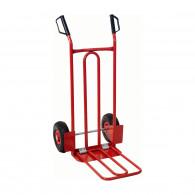 Diable avec bavette roues gonflables - 250 kg KS Tools 160.0226