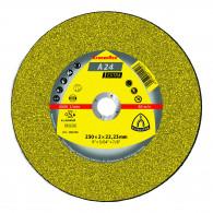 Disque à tronçonner Ø125mm A 24 EX pour métal - Klingspor 188463