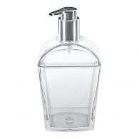 Distributeur de savon liquide transparent