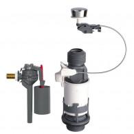 Mécanisme wc MD2 à câble simple touche + robinet flotteur TOPY - Wirquin 10717737