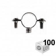Lots de 100 Colliers de fixation Atlas simple - DISPONIBLE en 7 MODÈLES  - FISCHER