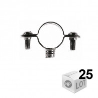 Lots de 25 Colliers Atlas Simple 7x150 Ø50 - Fischer